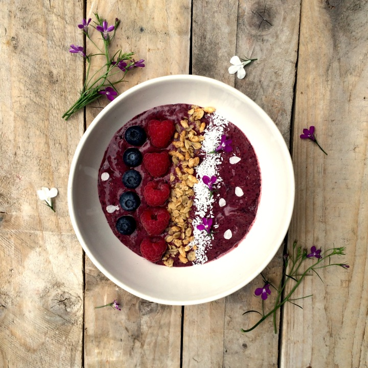 Summer Berries Acai Bowl