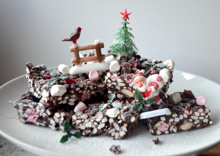 Christmas Rocky Road